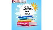 Study material for NEET