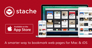 Stache - a smarter way to bookmark web pages