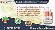 EAnnatto Tocotrienols as Delta Gold Tocotrienol is a master Anti-Oxidant which contains 90% Delta-Tocotri…