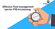 Time Management Tips For PTE Listening Section | PTE GURUS