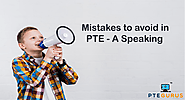 Tips to Avoid Common Mistakes in Speaking Sections - PTE Gurus