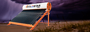 Can Solostar solar water heater work in bad weather conditions in West Bengal?