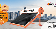Solar Water Heater- Solostar: 4 Different Types Of Domestic Solar Water Heater That Are Available