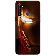 Get Amazing Iron man Face Mobile Case at Beyoung