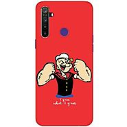 Get Amazing Design Realme 5 Case Only at Rs. 199