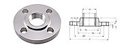 Stainless Steel Threaded Flanges manufacturer in India - Akai Metal