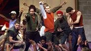 N'Sync in their First TRL Performance
