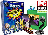 Zu3D Complete Stop Motion Animation Software Kit For Kids Includes Camera Handbook And Two Software Licenses Works On...