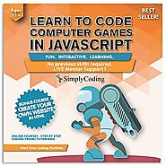 Simply Coding for Kids: Learn to Code Javascript - Video Game Design Coding Software - Computer Programming for Kids,...