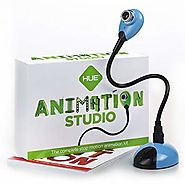 HUE Animation Studio: Complete Stop Motion Animation kit with Camera, Software and Book for Windows (Blue)
