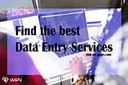 Find the best Data Entry Services
