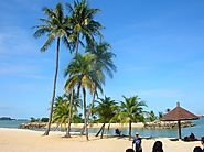 Relax at one of Sentosa's beaches