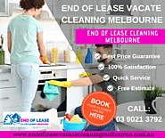 End of Lease Cleaning Melbourne | Vacate Cleaning | Call (03) 9021 3792