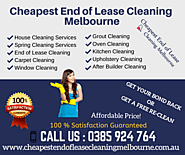 End of Lease Cleaning Melbourne-0385 924 764