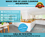 End of Lease Cleaning Melbourne - 100% BOND BACK