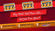 How to Get 500 Free Spins on WellDoneSlots? | UK Slot Sites