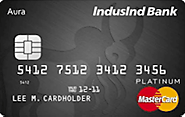 Best Zero Annual Free Credit Card in India - Indusind Aura Edge Credit Card