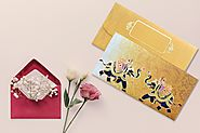 Online Designer Shagun Envelopes in India - Memorys