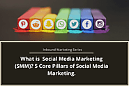 Inbound Marketing Series: What Is Social Media Marketing (SMM)? 5 Core Pillars Of Social Media Marketing. – Telegraph