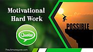 40+ Motivational Hard Work Quotes - Theultimatequote