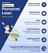Get low-interest rate ICICI Bank personal loan