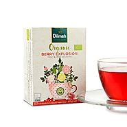 Organic Berry Tea | Dilmah Organic Berry Explosion Tea