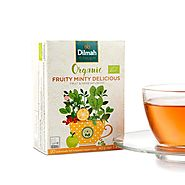 Fruit Flavoured Tea | Dilmah Organic Fruit Minty Ceylon Tea