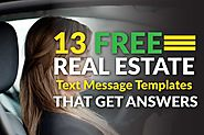 13 Free Real Estate Text Message Templates That Get You Answers | Easy Agent Pro