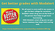 Get better grades with Modalert by jennifer brown - Flipsnack