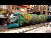 Electric Trains in Santa Cruz de Tenerife, Canary Islands