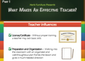 Infographic: What Makes An Effective Teacher? - A Blog for Principals and Teachers - School Matters