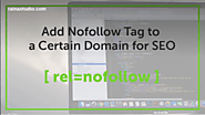 How to Add Nofollow Tag to a Certain Domain « RainaStudio