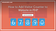 Simple Way to Add Visitor Counter to Website in PHP – Try Now!