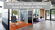 The latest trends in workspace architecture for office