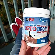 Introducing Keto Chicken Bone Broth - LonoLife