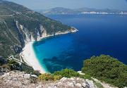 Myrtos Beach - Wikipedia, the free encyclopedia