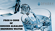 What are the pros and cons of Alkaline Drinking Water