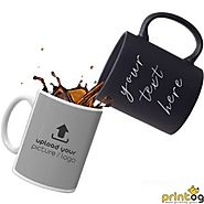 Buy Unique Personalized and Customized Black Mug Online @ PrinTOG