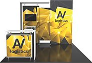 10 x 10 Trade Show Displays and Portable Trade Show Booths
