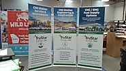 Retractable Banner Stands & Pop up Banners for Trade Shows