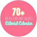 70+ monthly topic ideas for any blogging editorial calendar.