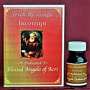 Website at https://ablessedcalltolove.com/product/blessed-angelo-of-healing-oil/