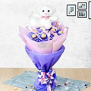 Online gifts delivery in Hyderabad from Yuvaflowers