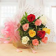 Online flowers delivery in Gurgaon from Yuvaflowers