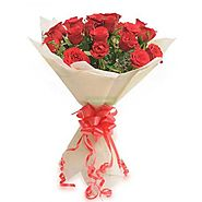 Same-day Valentine's Day flowers delivery in Bangalore - Yuvaflowers