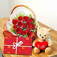 Valentine's Day gifts delivery in India- Yuvaflowers