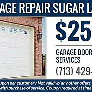 Garage Repair Sugar Land - Sugar Creek Center - 2 tips