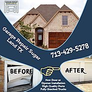 Garage Repair Sugar Land TX (@GarageSugar) | Twitter