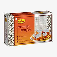 Buy Orange Burfee Online - Haldiram's
