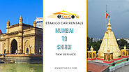 Mumbai To Shirdi Taxi Service | Lowest Taxi Cab Fare - eTaxiGo